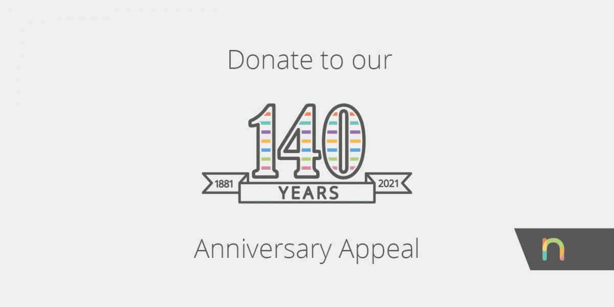 Donate to our 140th Anniversary Appeal today!
