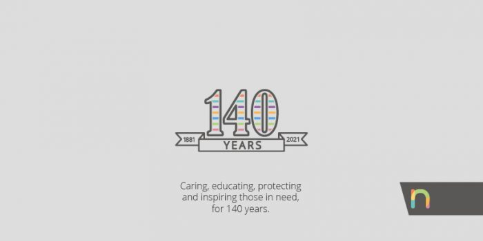 Caring, educating, protecting and inspiring those in need for 140 years.